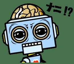 HALF ROBOT sticker #1625739