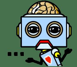 HALF ROBOT sticker #1625740