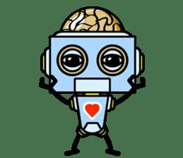 HALF ROBOT sticker #1625741