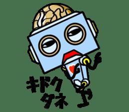 HALF ROBOT sticker #1625742