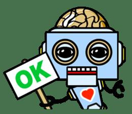 HALF ROBOT sticker #1625743