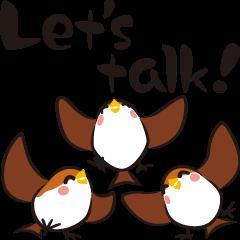 Three Sparrows ( English ver. - part2 )