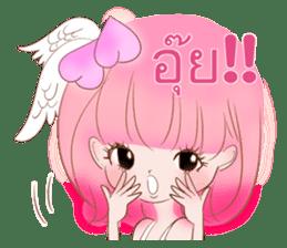 Pink!Peach girl sticker #1627107