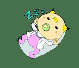 Baby Takkun sticker #1630758