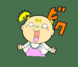 Baby Takkun sticker #1630761