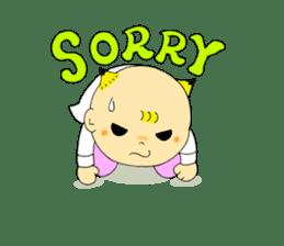 Baby Takkun sticker #1630763