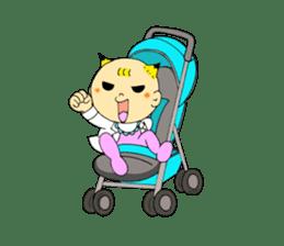Baby Takkun sticker #1630765