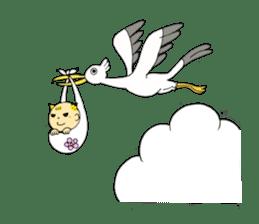 Baby Takkun sticker #1630769