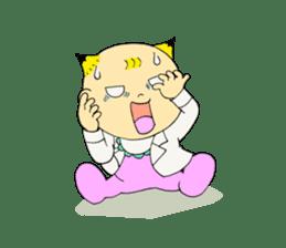 Baby Takkun sticker #1630771