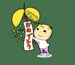 Baby Takkun sticker #1630779