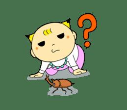 Baby Takkun sticker #1630780