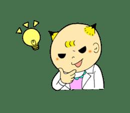 Baby Takkun sticker #1630785