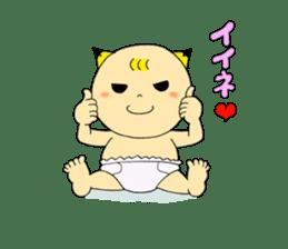 Baby Takkun sticker #1630786