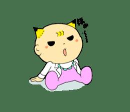 Baby Takkun sticker #1630788