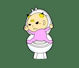 Baby Takkun sticker #1630791