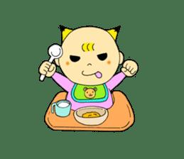 Baby Takkun sticker #1630792