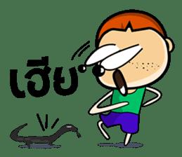 Khun Khai sticker #1632300