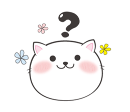 Cat with the question mark sticker #1637049