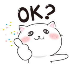Cat with the question mark sticker #1637062