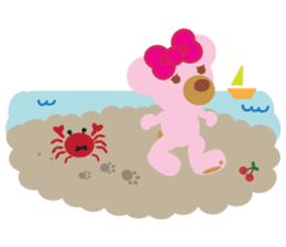 Melody the Pink Bear sticker #1637372