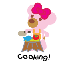 Melody the Pink Bear sticker #1637374