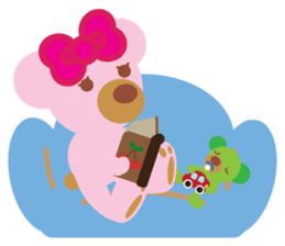 Melody the Pink Bear sticker #1637377