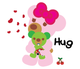 Melody the Pink Bear sticker #1637380