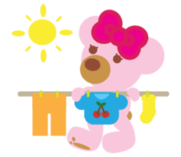 Melody the Pink Bear sticker #1637383