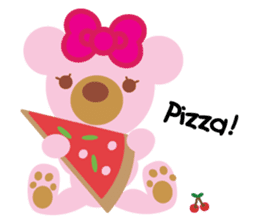 Melody the Pink Bear sticker #1637384