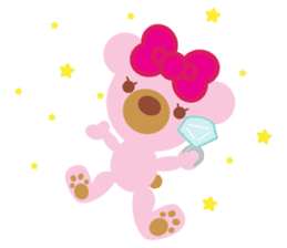 Melody the Pink Bear sticker #1637386
