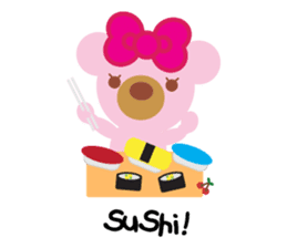 Melody the Pink Bear sticker #1637389