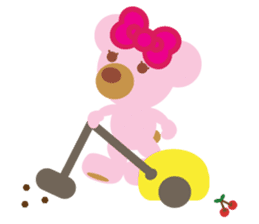 Melody the Pink Bear sticker #1637391