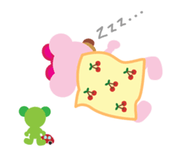 Melody the Pink Bear sticker #1637393