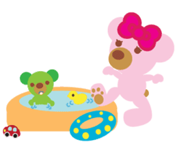 Melody the Pink Bear sticker #1637405