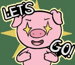 Cute piggy Aren sticker #1637770
