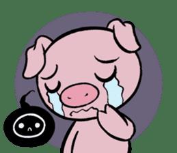 Cute piggy Aren sticker #1637775