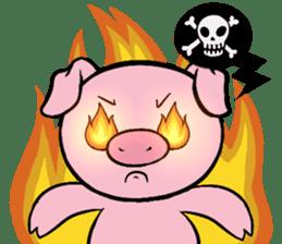 Cute piggy Aren sticker #1637780