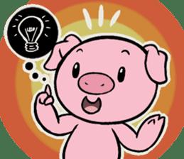 Cute piggy Aren sticker #1637788