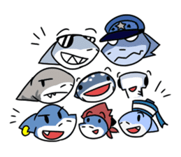 Shark Cousins Set sticker #1638096