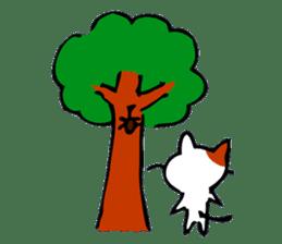 Weird cat ! sticker #1643057