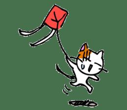 Weird cat ! sticker #1643067