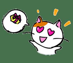 Weird cat ! sticker #1643080