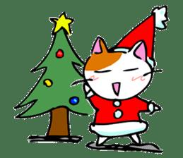 Weird cat ! sticker #1643090