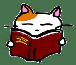 Weird cat ! sticker #1643096