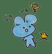 France mouse sticker #1647744