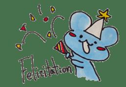 France mouse sticker #1647751