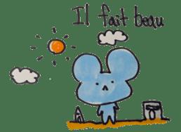France mouse sticker #1647752