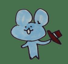 France mouse sticker #1647754