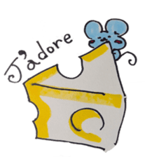 France mouse sticker #1647757