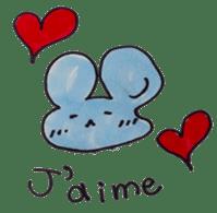 France mouse sticker #1647762